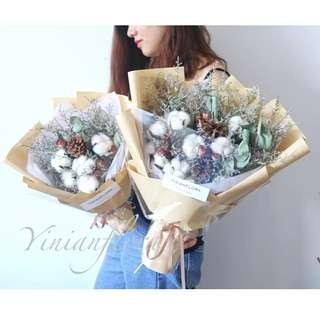 🚚 Real Dry Flower Bouquet