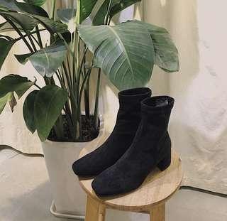 100%全新顯瘦韓款中長短boot(大碼)
