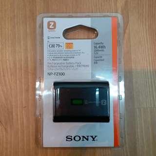 Sony fz100 battery