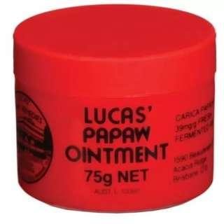 Lucas Papaw Ointment 75 gr