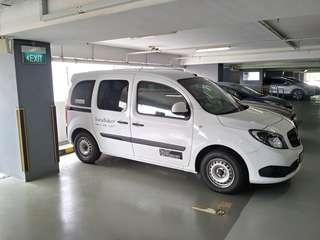 Mercedes Citan fitting curtain - Not magnetic shade