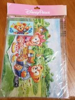 全新Disney Duffy Zip袋(1大1小)