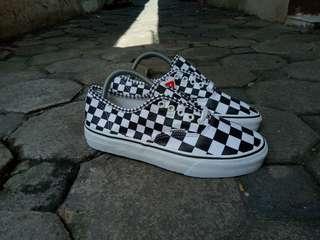 75a7902786 Vans authentic chekerboard mix black Original
