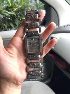 100% Authentic Jam tangan rantai Guess pria keren modern
