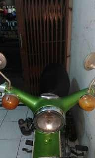 Honda C70 bebek Antique