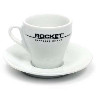 Rocket Espresso Flat White Cup And Saucer - Set of 6