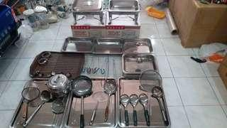 Stainless steelware