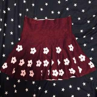🚚 🌸Mermaid Floral Skirt