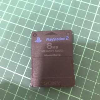 PS2 memory 8MB