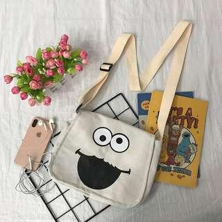 [PO] Retro Elmo Tote Bag