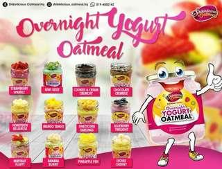 Overnight Yogurt Oatmeal