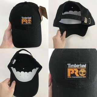 "INSTOCKS Black ""Timberland"" Baseball Cap"