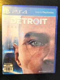 PS4 *New & Sealed* Detroit Become Human