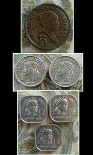 Old phillippine coins