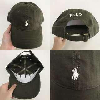 "INSTOCKS Green ""Polo"" Baseball Cap"