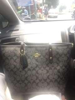 Coach mirror semi premium