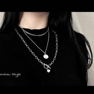 🚚 [PO] Ulzzang Chained Necklace set