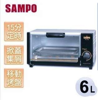 SAMPO聲寶 KZ-LA06 6L定時烤箱