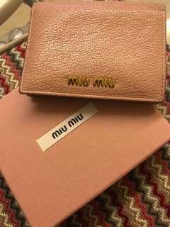 Miu Miu Wallet 銀包