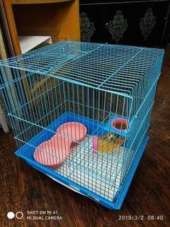 Hamster Cage ( Blue )