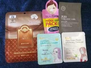 Korean Facial Care set #liz50off