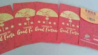 🚚 2019 Texas Chicken Angpow/ Red Packets sgd3 per pack!