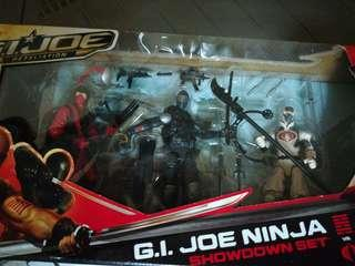 Gijoe Ninja Showdown 3 inch