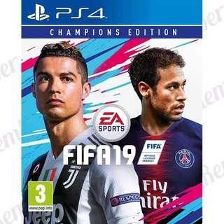 Nyari FIFA 19 PS4 Champions Edition