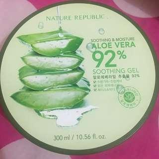 Nature Republic Aloe Vera Gel Original Counter Gandaria City