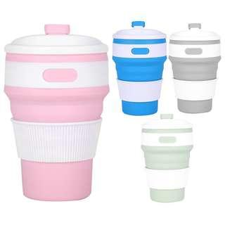 BN Silicon Collapsible Coffee/Tea Cup