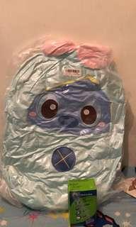 全新日本直送  Disney Stitch  史迪仔 bb 淺藍色裝 毛公仔