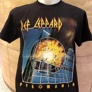 🚚 Def leppard Pyromaniac Rock t shirt DL