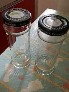Jam jars...St. Dalfour Jam