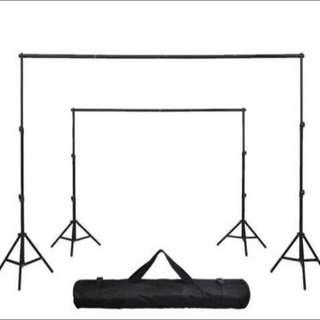 🚚 Easy Portable Backdrop Stand, Suits YouTube, Birthday Party Etc