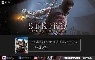 PS4 Sekiro: Shadows Die Twice (ENG/CHN)