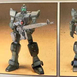 Gundam 08th MS Team GM Sniper HG Model Kit