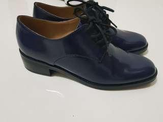 Pedro blue boots size 38