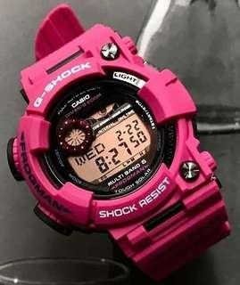 100% Authentic new Japan JDM edition Casio G-Shock Men In Sunrise Purple Frogman GWF-1000SR-4JF MB6 Watch Japan made