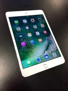 🚚 iPad mini 4 silver (128gb with cellular) without box