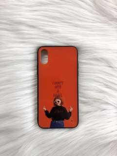 Orange Case for Iphone X