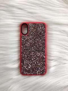 Glitter case for Iphone X