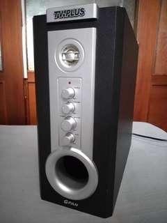 🚚 GFAN TV PLUS Amplifier subwoofer/good bass