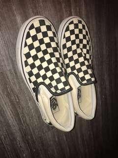 Vans棋盤鞋