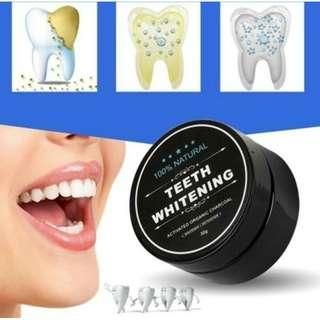 Teeth Whitening Activated organic charcoal