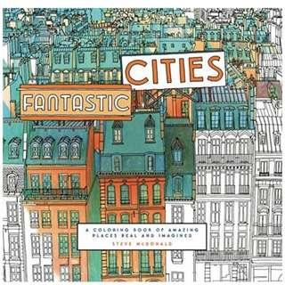🚚 Fantastic Cities: A Coloring Book of Amazing Places Real and Imagined