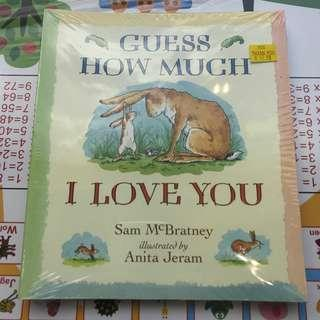 Guess How Much I Love You (4 Seasons set) by Sam McBratney