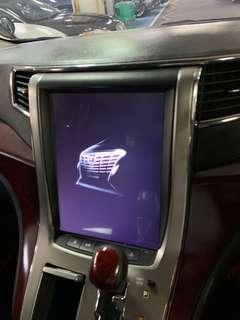 """Toyota Alphard 12.1"""" in car entertainment DVD GPS ANDROID BUILT IN"""