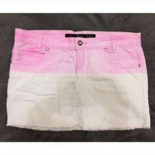 *Repriced! Dickies Denim Mini Skirt 30