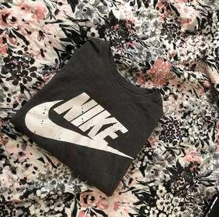 Nike Grey & White Tee Shirt