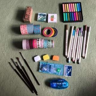 Bullet journal/ craft supplies!